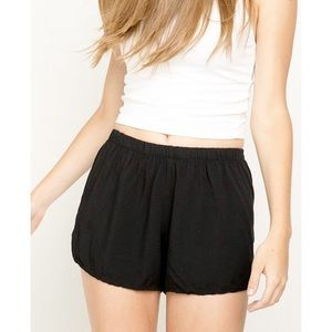 BNWOT Brandy Black Shorts